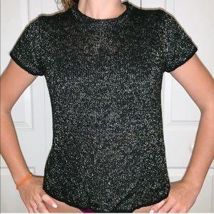 Zara black and white Shirt